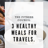 How to prepare healthy food during travels.